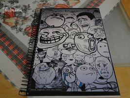 Meme Notebook by teialima