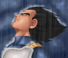 Vegeta Sad by TheGameJC
