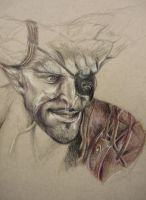Dragon Age Inquisition, The Iron Bull WIP 2 by ACD101