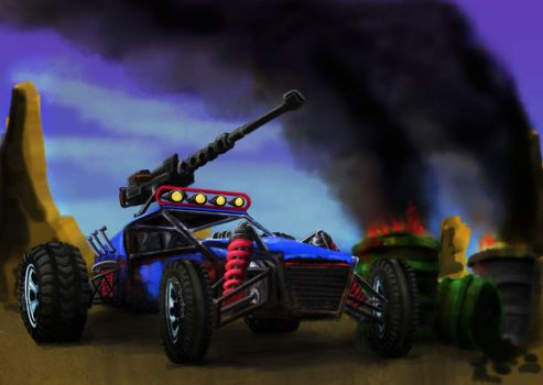 Dune Buggy of Death by horsescrycheese