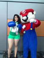 Street fighter Dudley and Mario by MrsBehrudy