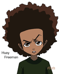 Huey Freeman by Alusis