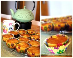 Orange Muffins II by pandrina