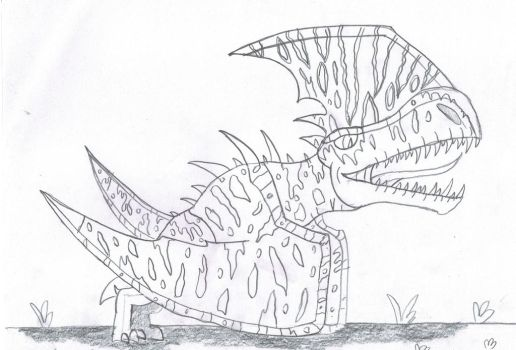 Tapejalosaurus level 40 by Viperwings