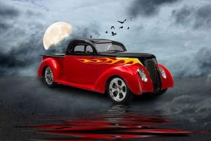 37 Ford Pickup by RHuggs