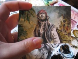 Jack Sparrow Trading Card by Amelie-ami-chan