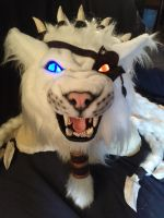 Rengar Head - Front View by shagpokestudios