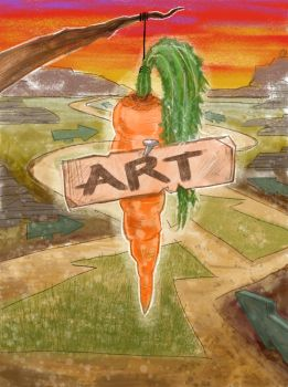 Art Carrot by mythfits