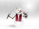 The Fearsome Snow Warrior of Doom by Vectorman316