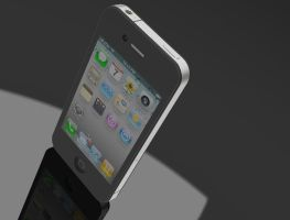 iPhone 4 by bromtomley
