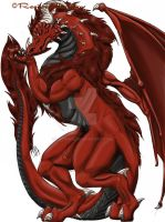 Regine's Red Dragon by lucinick