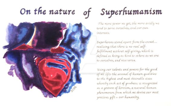 Superhumanism by SophlyLaughing