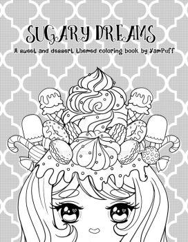 Sugary Dreams Cover Prototype by YamPuff