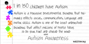 Autism Awareness by perfectsunrise