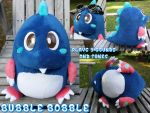 For Sale- Bubble Bobble Plushie with Audio Box by Super3dcow