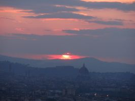 Sunset over the Duomo by Faticia