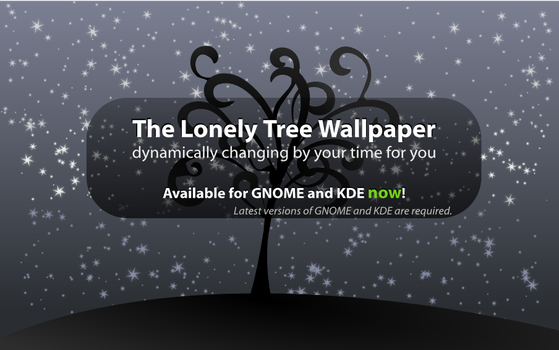 The Lonely Tree Wallpaper by Act1v8