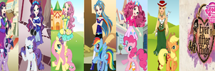 My Little Pony in Ever After High by HatterM97