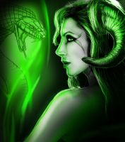 Seven deadly sins - Envy by InsanityIsMyReality