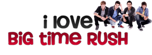 PNG Big Time Rush by KarlaHenderson