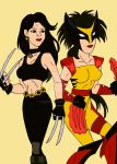 X Men: Sisters by xero87