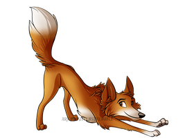 Fox by MittensTheNoble