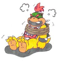 Point Commission: Bowser Jr. by KnightRayjack