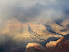 Storm over the Grand Canyon by LaurelPhotoandCraft