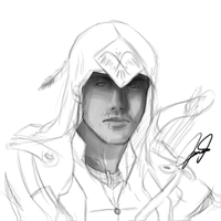ac3 - sketch by audelade