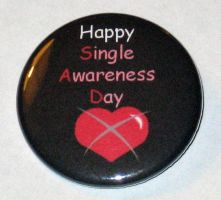 Happy Single Awareness Day by Click-Boom