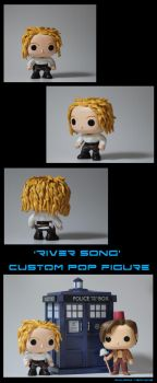 River Song POP Figure by TheGoddess908