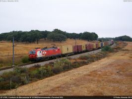 CP 4709 81380 Canal-Caveira 18-07-13 by Comboio-Bolt