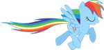 Rainbow Dash Prance by Synthrid