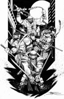 Tmnt Bw by marco-itri
