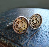 Cufflinks Model One by AMechanicalMind