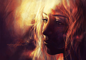 Day 6: Daenerys, Mother of Dragons by Ralenore