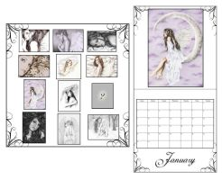 2008 Calendar release by Zindy