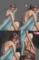 Stages of progress by Asidpk