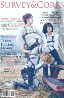 Survey Corps magazine - Shingeki No Kyojin by denni-cosplay