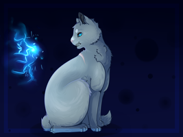 Warrior Cats: Bluestar + Speedpaint by Starpuke