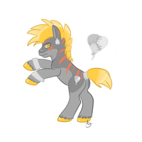 Pony adopt auction! by IMonsterDrool