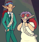 Prom Royalty by inthedesertwithgirls
