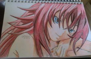 Rias Gremory Request by DeadGotashi