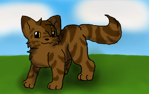 Warrior Cats Brambleclaw by jodiepikachu