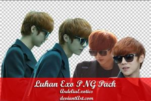 Luhan EXO PNG [PACK] by ArdeliaExotics