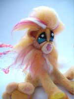 Winged  Pink Lemonade Lion by Tanglewood-Thicket