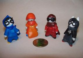 .:My Homestuck Figurines:. by Kharmakhaos