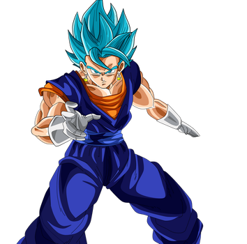 Vegito SSJGSS by Supergoku37