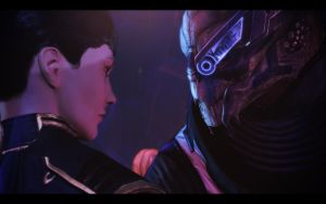 ME3 Citadel DLC - G/S Date - Garrus and Jane 13 by chicksaw2002