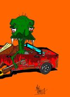 Dino Drive by ZombiePictures